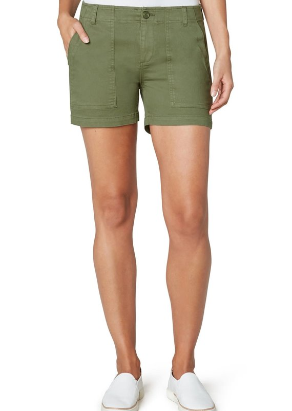 Liver Pool Utility Short with Flap Pocket