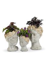 Woman Head Planter Small
