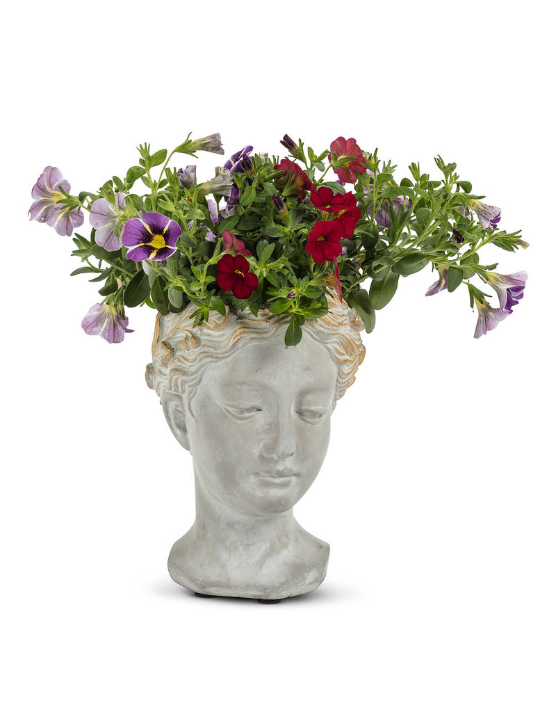 Woman Head Planter Extra Small - EB23