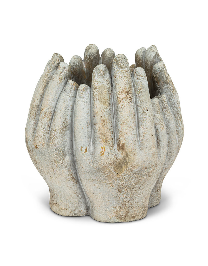 Small Tall Hands Planter