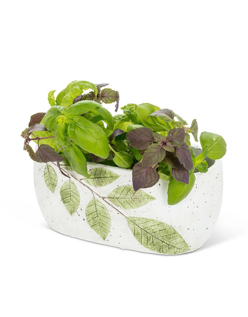 Oval Leaf Planter