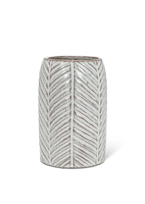 Medium Herringbone Vase