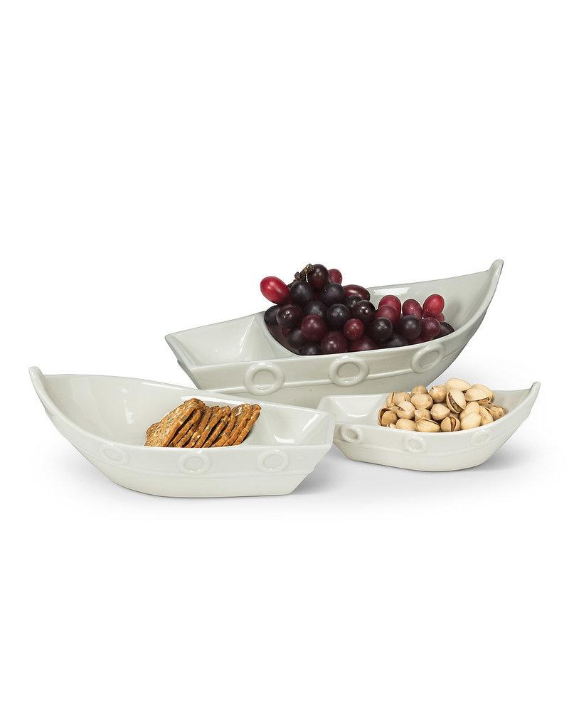 Divided Boat Dish Lg - EB1718