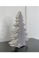 Silver Ceramic Tree - B1
