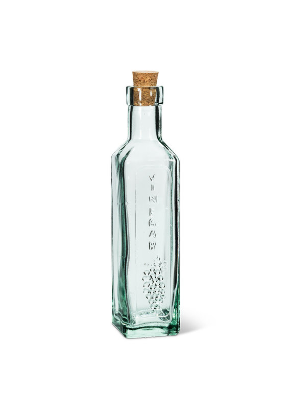 Square Vinegar Bottle with Cork - EB2-60