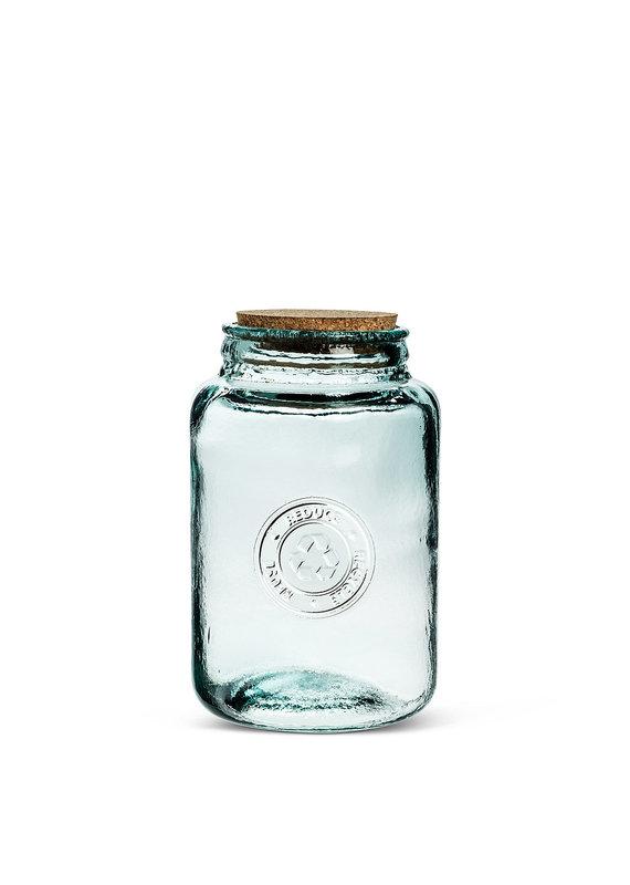 Medium Crest Storage Jar with Cork