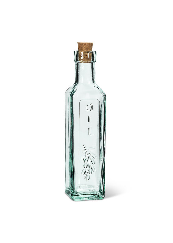 Square Oil Bottle with Cork - EB2-4