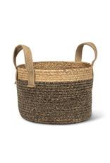 Round Handled Basket Lg