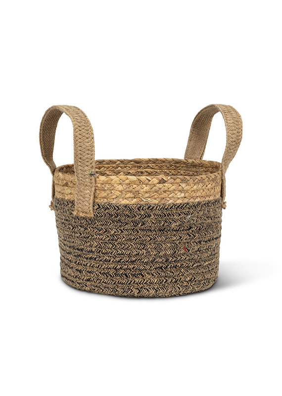 Round Handled Basket Sm