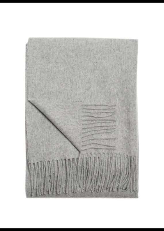 Linen Way Alpaca & Wool Grey Throw - EB27