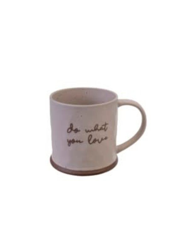 Indaba Trading Co. Do What You Love Mug - EB31