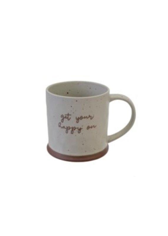 Indaba Trading Co. Get Your Happy On Mug - EB31