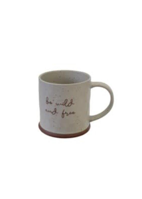 Indaba Trading Co. Be Wild and Free Mug - EB31