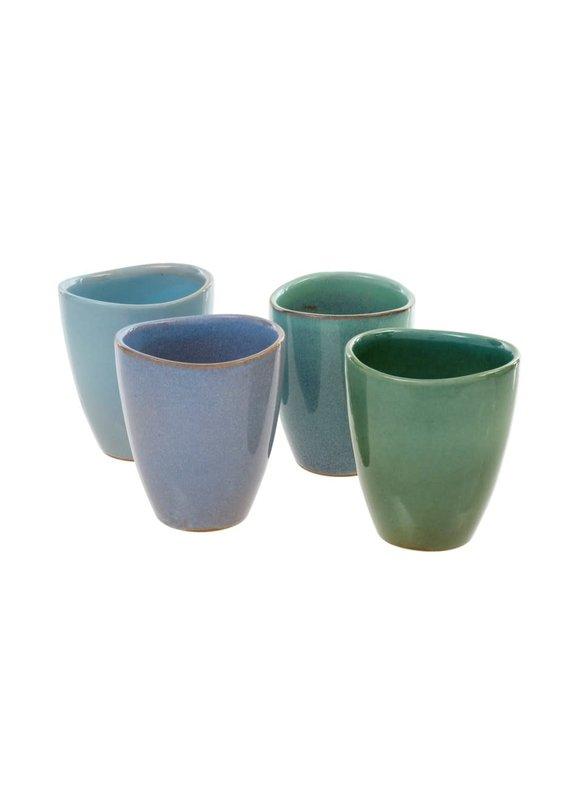 Oceana Ceramic Tumblers Set of 4