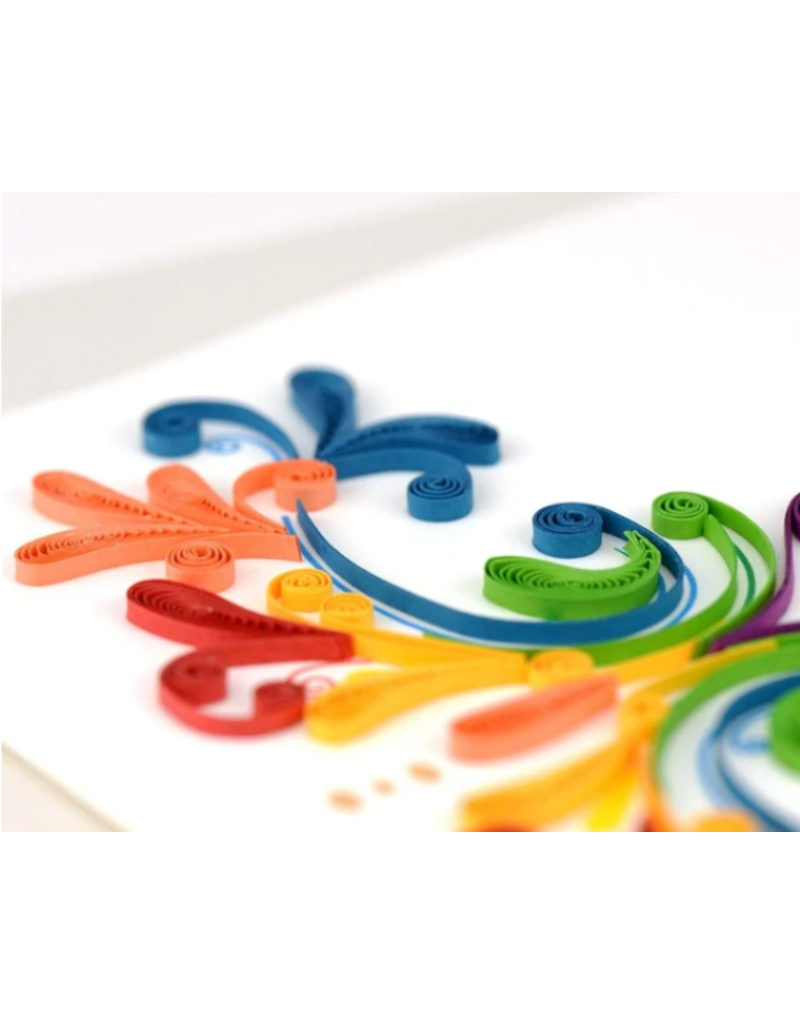 Congratulations Quilling Greeting Card