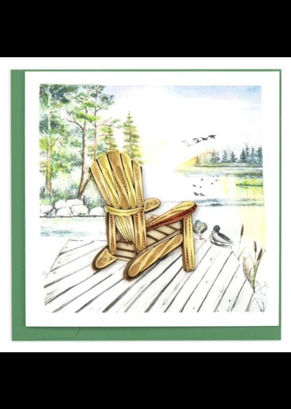Adirondack Quilling Greeting Card