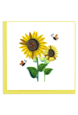 Sunflower Quilling Greeting Card