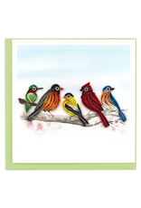 Songbirds Quilling Greeting Card