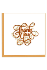 Thank You Quilling Greeting Card