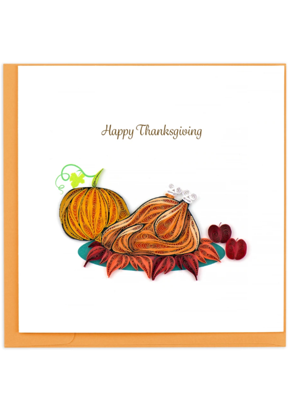 Happy Thanksgiving Quilling Greeting Card