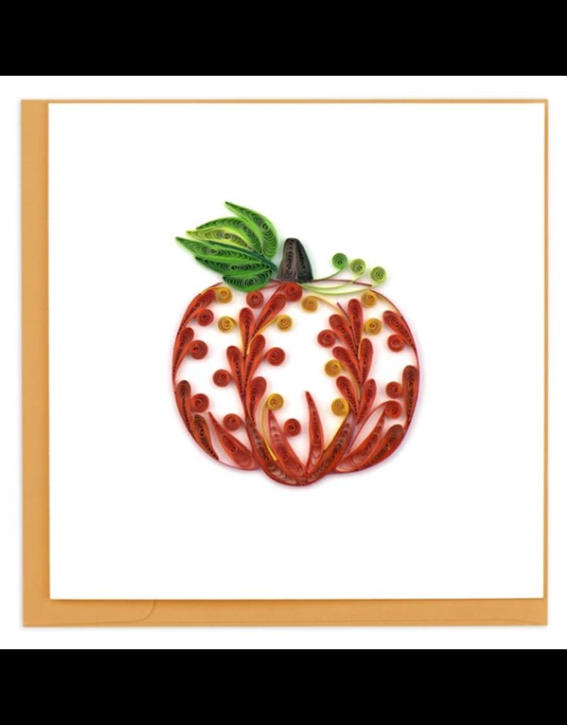 Decorative Pumpkin Quilling Greeting Card