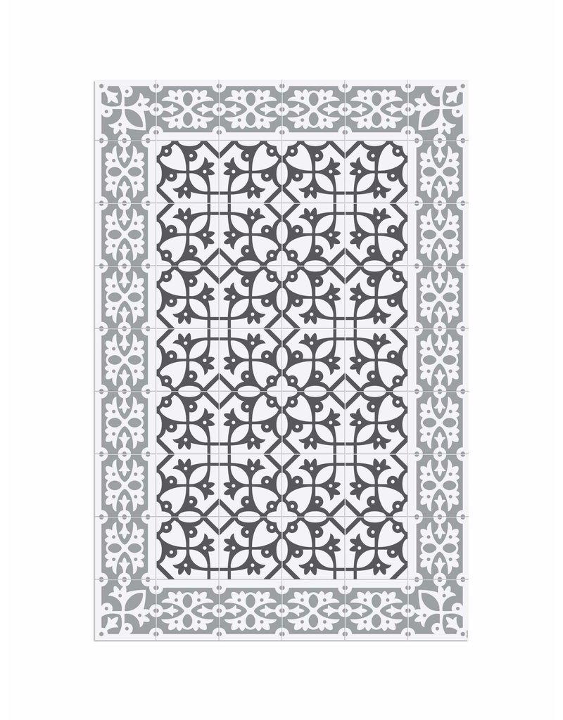 """Locus Vie Vinyl Floor Coverings Padua Floor Mat Medium Rug 3'11""""x5'11"""""""