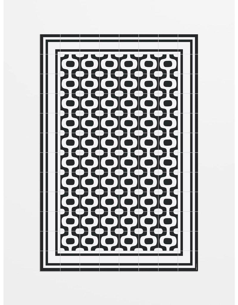"Locus Vie Vinyl Floor Coverings Ipanema Floor Mat Large Rug 5'3""x7'10"""
