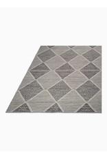 Fab Habitat Hampton - Gray - Indoor Outdoor PET (Polyester Fiber) Rug 4'x6'