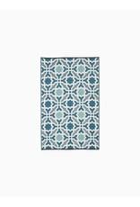Fab Habitat Seville - Multicolor Blue 5'x8'