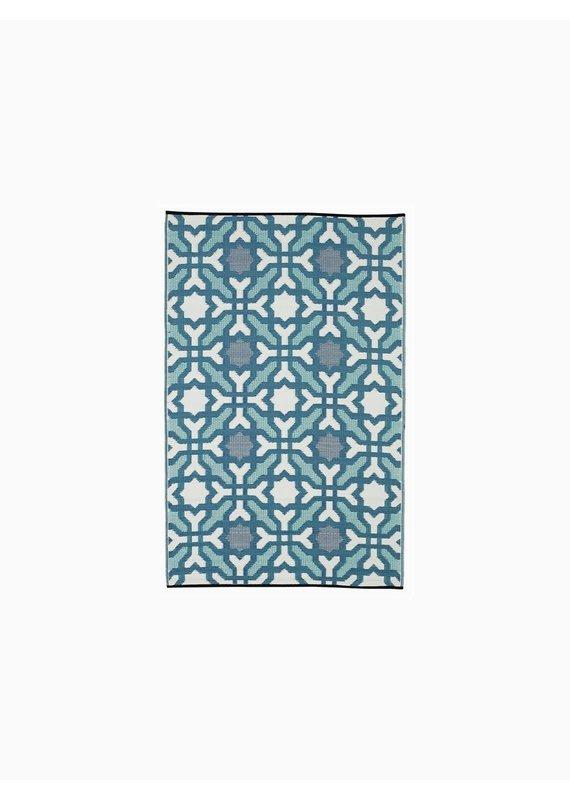 Fab Habitat Seville - Multicolor Blue 8'x10'