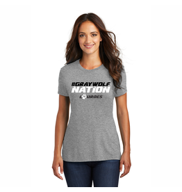 District District ® Ladies Perfect Tri ® Tee | #GraywolfNation *