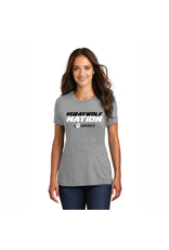 District District®Ladies Perfect Tri®Tee | #GraywolfNation *