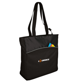 Port & Co Port Authority® - Two-Tone Colorblock Tote-Black *