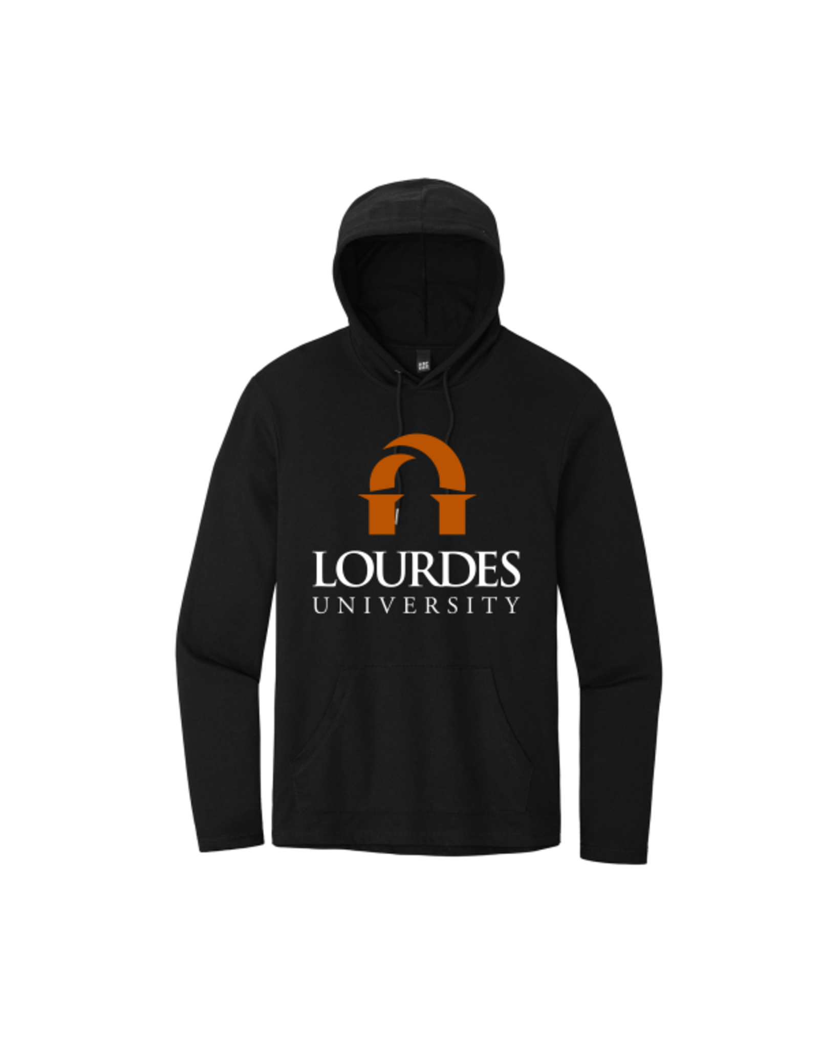 District District®Featherweight French Terry™Hoodie | Lourdes Univ. - Black