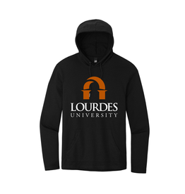 District District ® Featherweight French Terry ™ Hoodie | Lourdes Univ. - Black