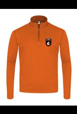 Badger C2 Sports Quarter Zip Pullover | Burnt Org | Lourdes Badge