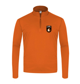 Badger C2 Sports Quarter Zip Pullover | Burnt Org | Lourdes Badge