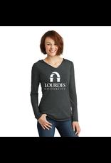 District District®Ladies Perfect Tri®Long Sleeve Hoodie | Lourdes Univ *.