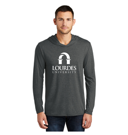 District District ® Perfect Tri ® Long Sleeve Hoodie | Lourdes Univ.