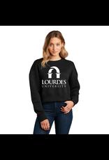 District District®Women's Perfect Weight®Fleece Cropped Crew | Lourdes Univ. *