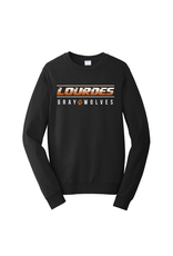 Port & Co Port & Company®Crewneck Sweatshirt-CHRM-Black