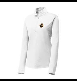 Sport-Tek Sport-Tek®Ladies1/4-Zip Pullover-Lpaw-White