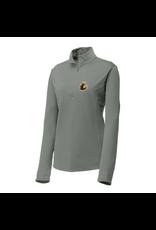 Sport-Tek Sport-Tek®Ladies  1/4-Zip Pullover-Lpaw-Grey Concrete