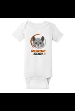 Rabbit Skins Rabbit Skins™ Infant Short Sleeve Baby Rib Onesie - White - Newbie Gubi