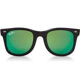 Sunglasses 2-4 Years (WeeFarers® Polarized - Black/Sea Green)