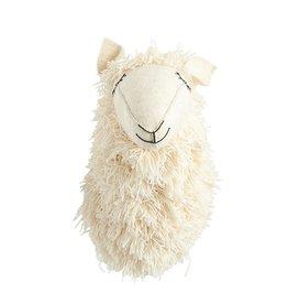 Wool & Felt Llama Head Wall Decor