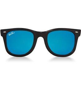 Sunglasses 2-4 Years (WeeFarers® Polarized - Black/Ocean Blue)