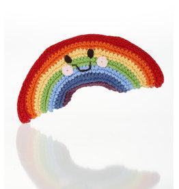 Rattle (Hand-Made - Friendly Rainbow)