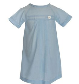Daygown (Pembrook Pleated - Light Blue)