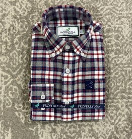 Properly Tied Flannel Button Down